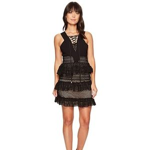 ROMEO & JULIET COUTURE Lace-Up Front Dress